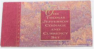 1993-P Thomas Jefferson Coinage and Currency Set in