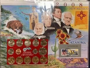 2008-D Uncirculated 1/2 Mint Sets - Postal