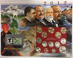 2012-P Uncirculated 1/2 Mint Sets - Postal