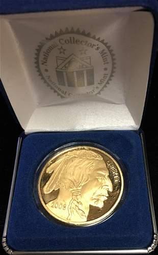 Copy of 2008 Gold Buffalo - Indian Head