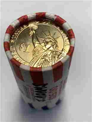 2007-D -J. Adams -Presidential U.S. Mint Wrapped Roll