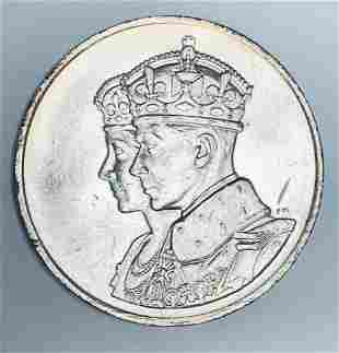 1939 Regem Et Reginam Canada Salvtat Royal Visit to
