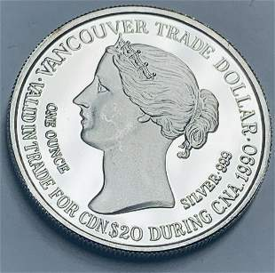 """1990 VANCOUVER Tarde Dollar """"Gateway to the Pacific"""" 1"""
