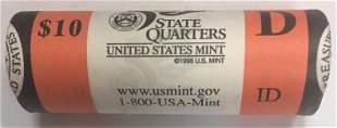 2007-D Idaho State Quarter US Mint Wrapped BU Roll