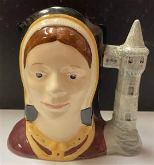 Royal Doulton Catherine of Aragon Large Character Jug