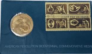 1972 American Revolution Bicentennial George Washington
