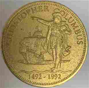 Christopher Columbus Quincentenary Jubilee Medal
