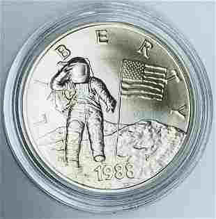 1988 P America In Space Young Astronaut Silver
