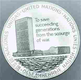 1975 Sterling Silver Medal Honoring the 30th