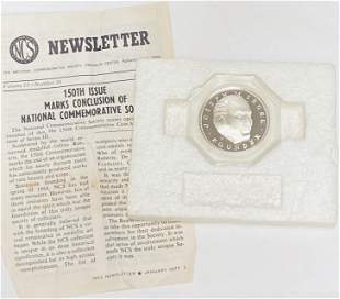 1977 The National Commemorative Society Silver Medal