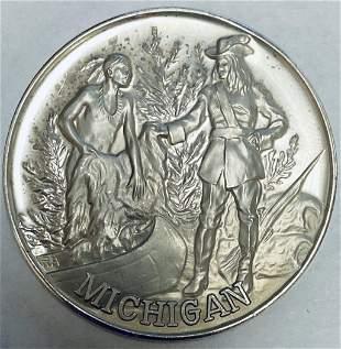 Official 1974 Michigan Medallion U.S. Bicentennial