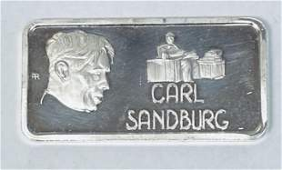Carl Sandburg - Our Greatest Americans Hamilton Mint 1