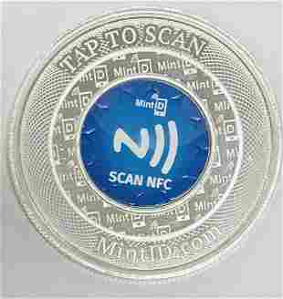NFC Scan Authentication MintID Buffalo Silver Round 1