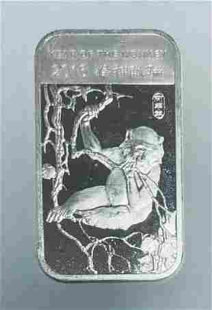 2016 Lunar Year Of The Monkey APMEX 1 oz .999 Fine