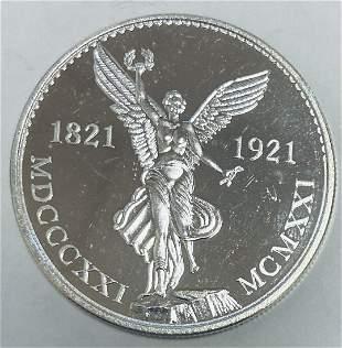 1985 Viva Mexico Silver Round 1 oz .999 Silver Proof