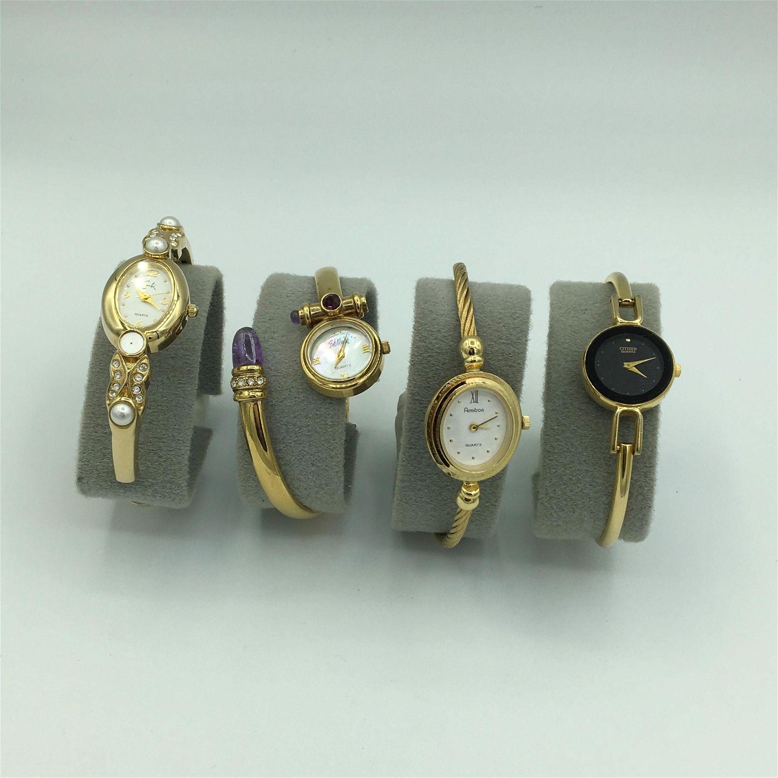 Lot 4 Fashion Ladies Quartz Wrist Watches Caché, Bob