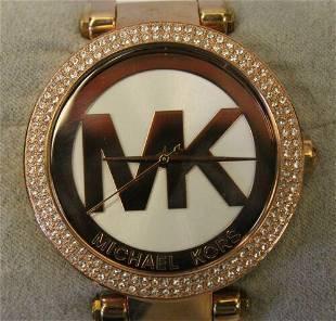 Michael Kors Parker Rose Gold Tone Watch MK-6365