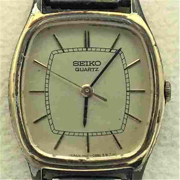 Vintage Seiko Quartz Ladies Wrist Watch #120055