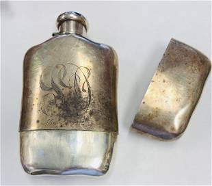 Tiffany & Co. Sterling Silver Flask 7.8 toz Approx.