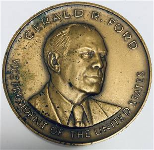 1973 Gerald R. Ford Vice Presidential Inaugural Bronze