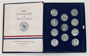1973 Medals Commemorating Battles of the American