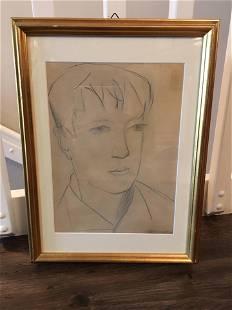 Italian School, 1930's, Sketch for Portrait of a