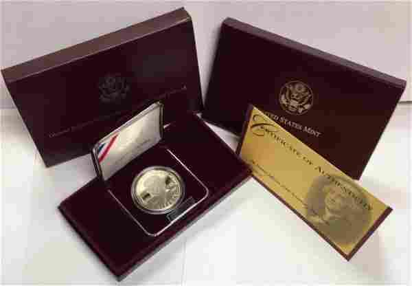 1993-S $1 The Thomas Jefferson Commemorative Silver
