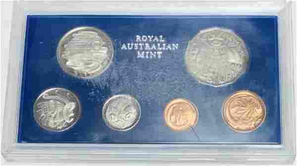 1972 Australia Proof Set of 6 coins Royal Australian