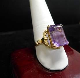 Amathyst Ring