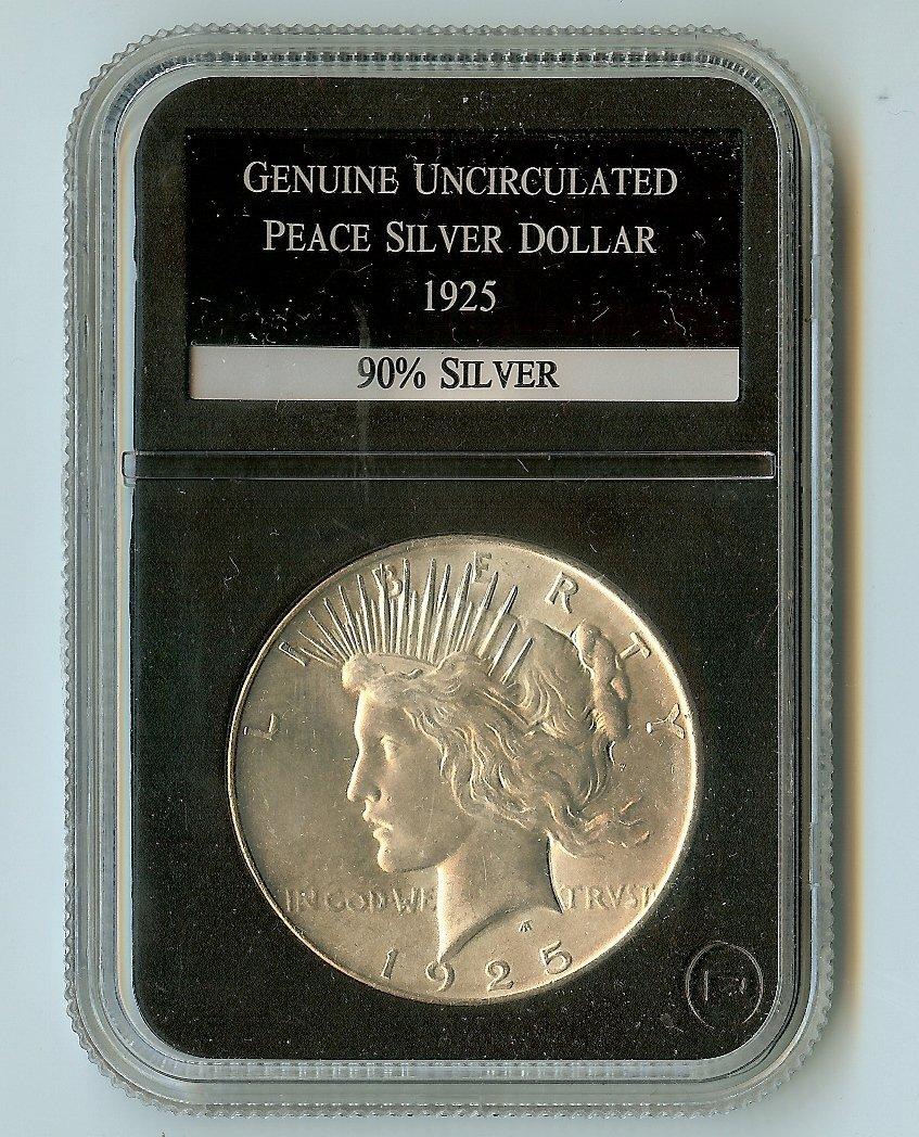 U.S. 1925 LIBERTY PEACE DOLLAR 90 % SILVER