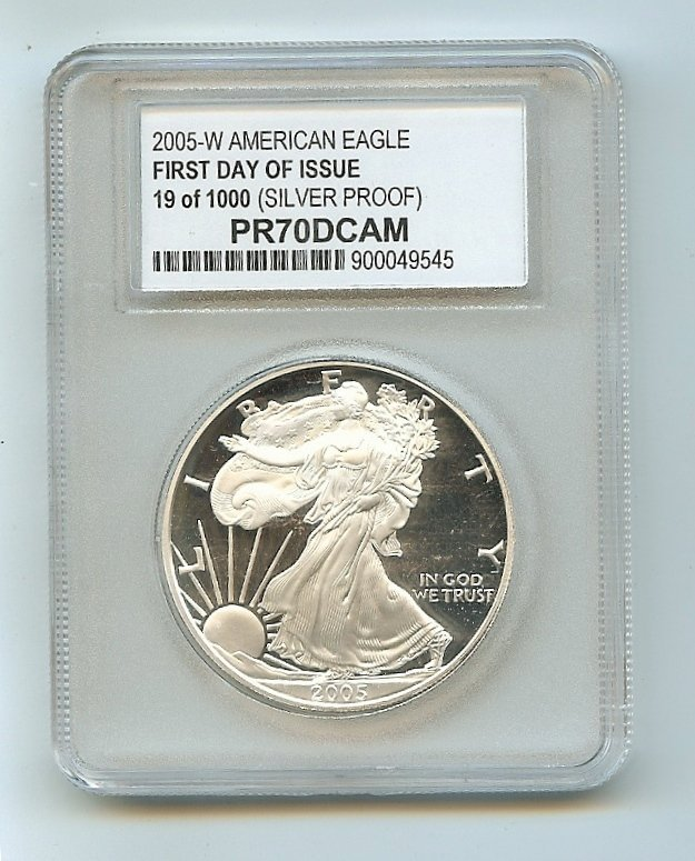 2005-W 19 of 1000 PR70CAM
