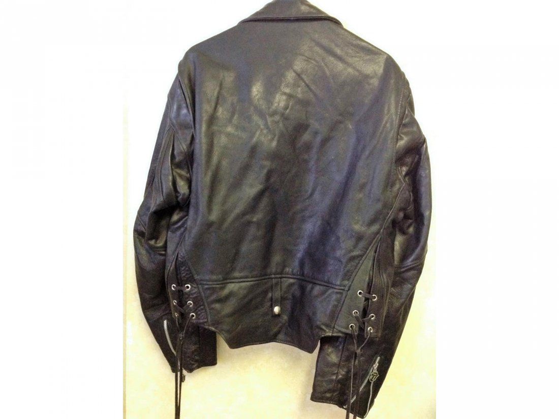 Fine Rolling Stones Voodoo Lounge XL Leather Jacket - 3
