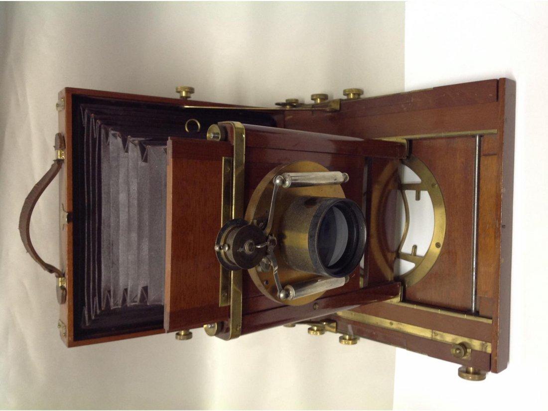 Antique Rochester Optical Co Carlton Camera.