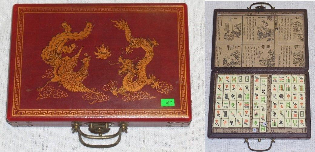 Vintage Mah-Jongg Game