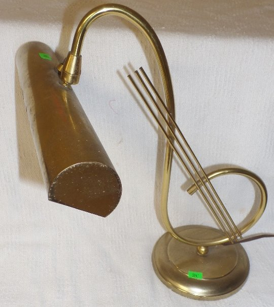 Music Staff Desk Lamp