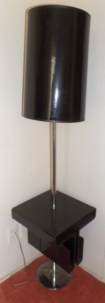 Retro Acrylic Floor Lamp