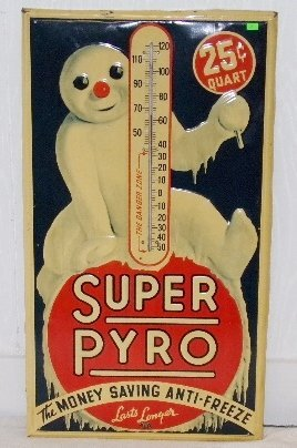 Super Pyro Advertising Sign-Donaldson Art Sign Co