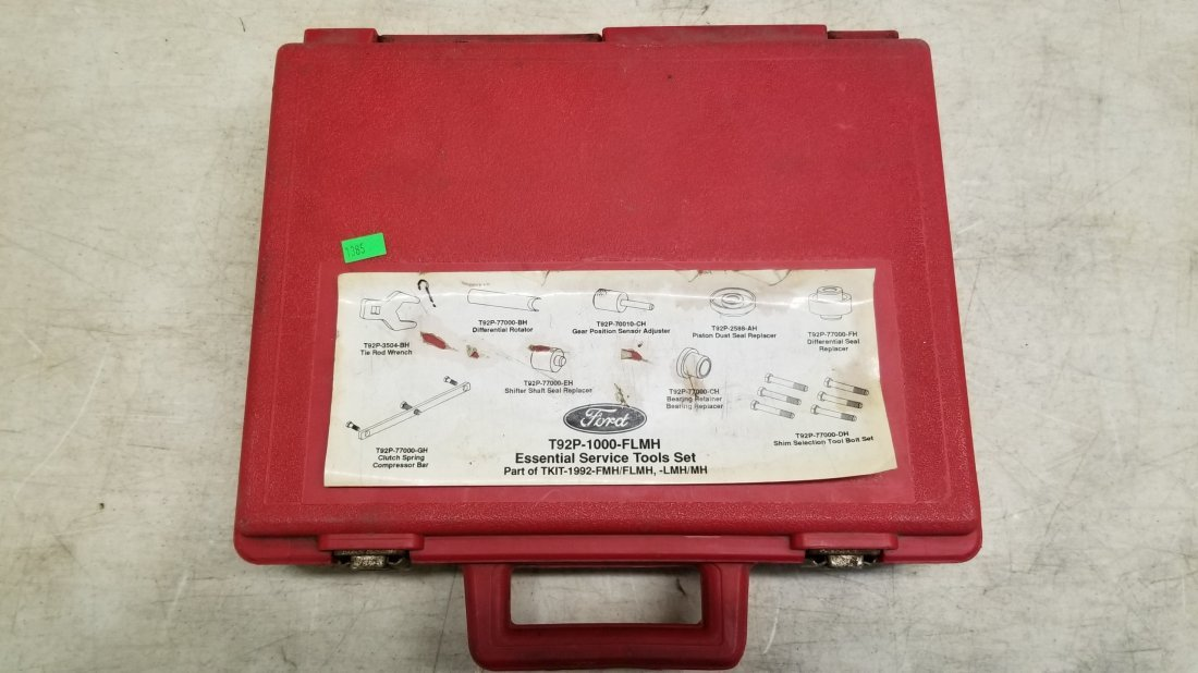 Ford Rotunda Essential Service Tools Set T92P-1000-FLMH