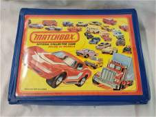 1980 Lesney Matchbox Carrying Case with 48 Die Cast Car