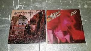 2 Vintage Record Albums
