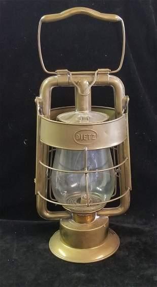 Dietz King Fire Department Lantern