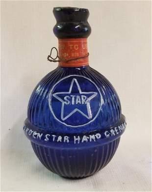 Harden Star Blue Hand Grenade Fire Extinguisher