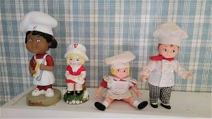 Campbell's Kids Bobble Head, Shaker and Doll's