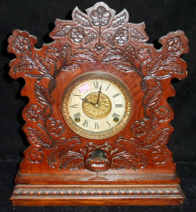 Champion ''O'' Gilbert Mantle Clock