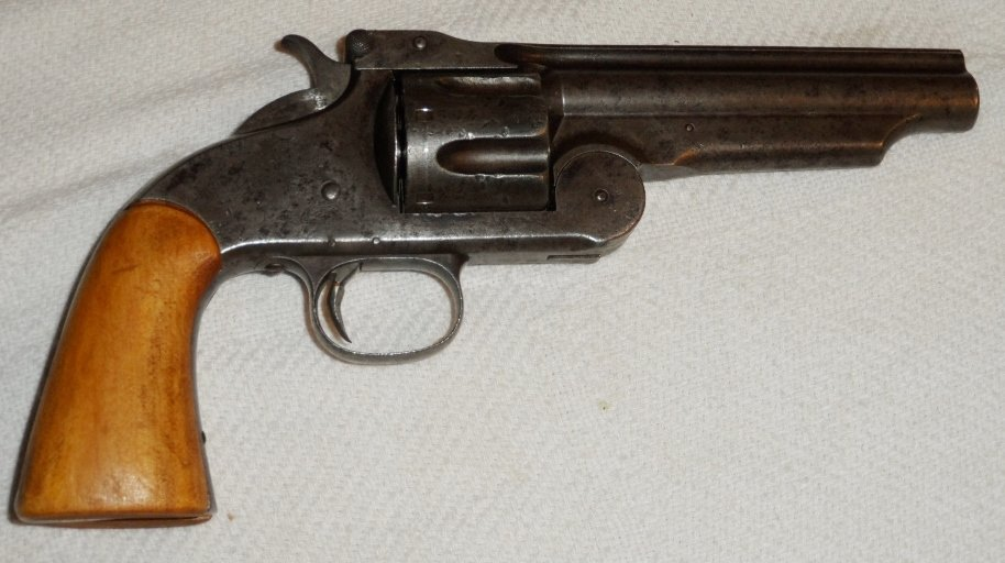 Late 1800's Smith & Wesson Model 3 .44 Cal. Black Powd