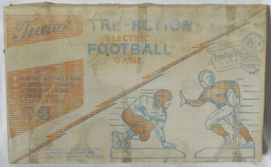 1967 Tudor Tru-Action Electric Football Game