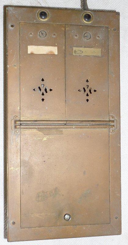 Vintage Brass Double Mailbox
