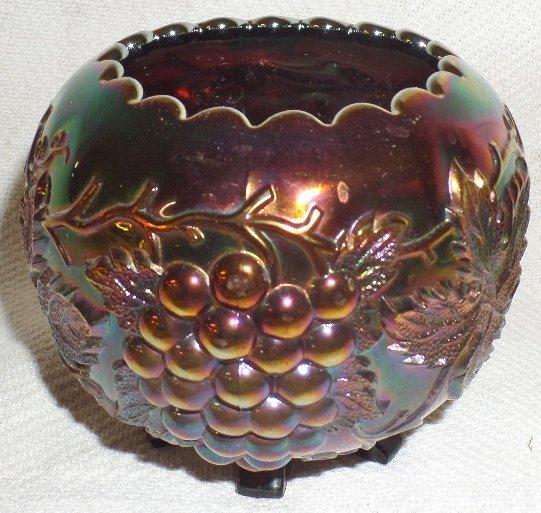 Purple Carnival Rose Bowl