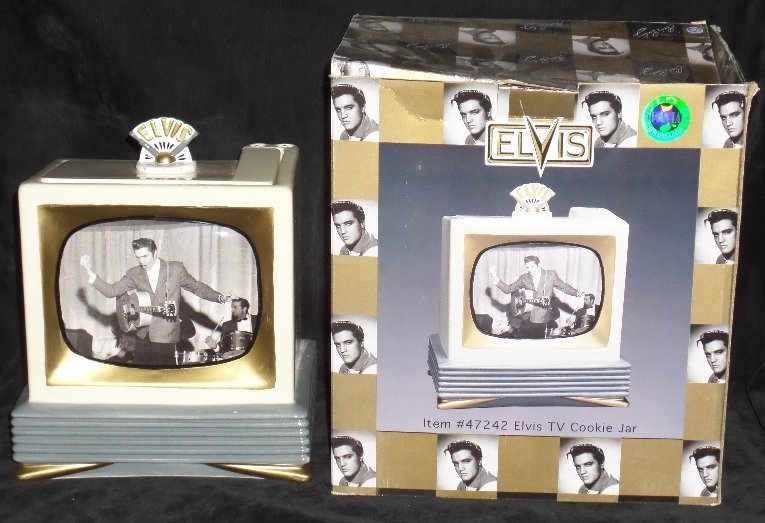 Elvis Cookie Jar by Vandor