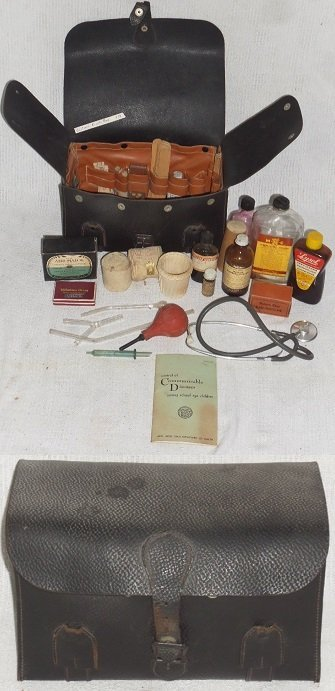 1934 Traveling Nurse's Bag